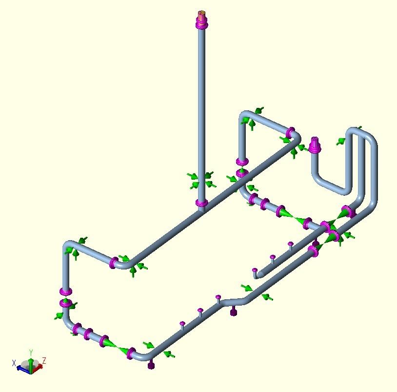 Piping Analysis Of Methanol Skid Atop FPSO