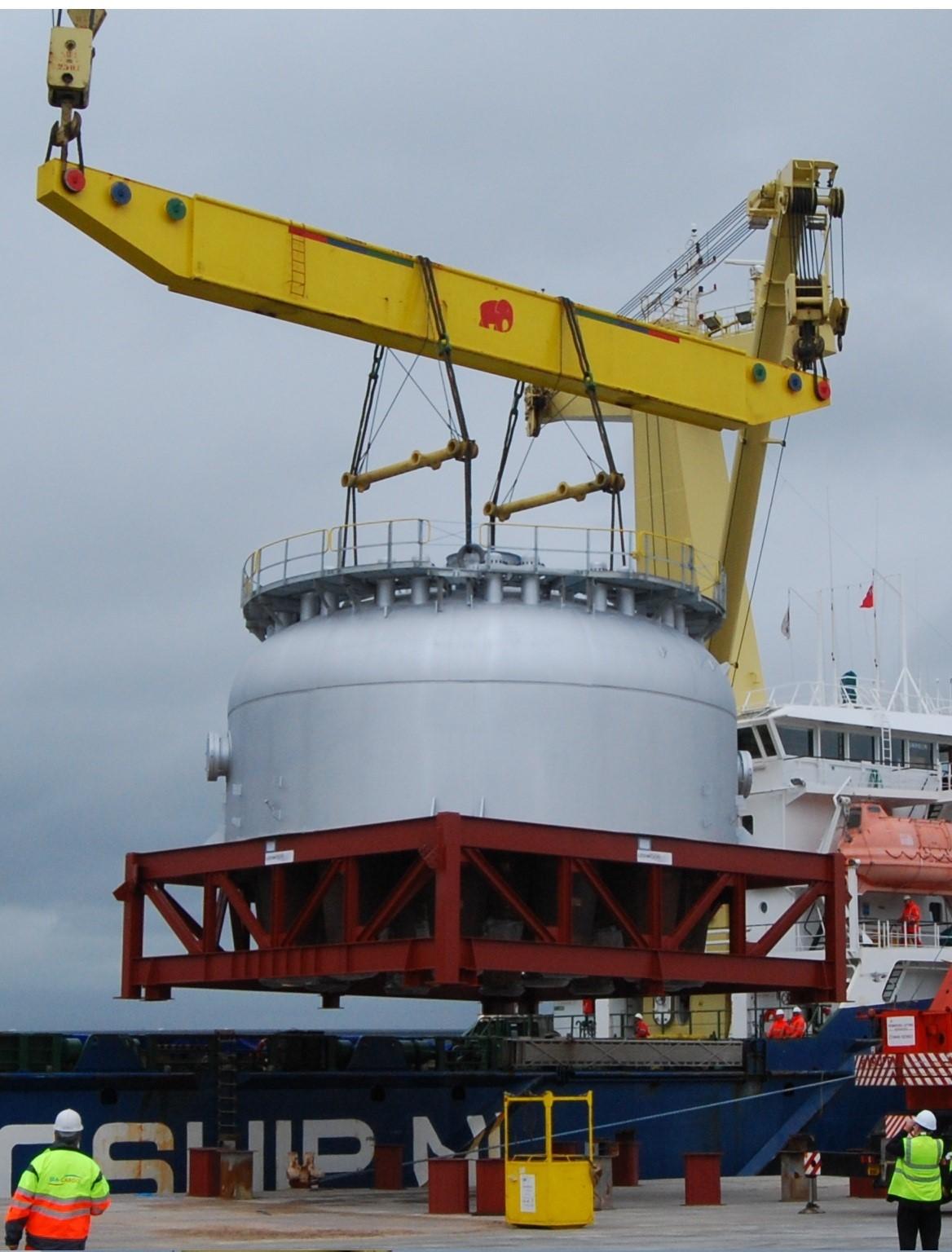 FCCU Regenerator Vessel Refit